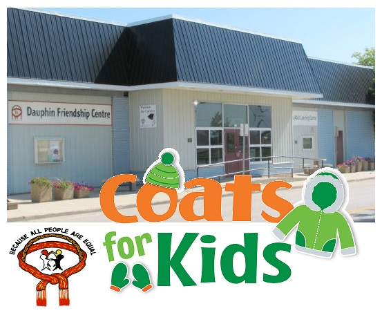 CoatsForKids BecauseAllPeopleAreEqual DauphinFriendshipCentre 2018 October PromoImage001
