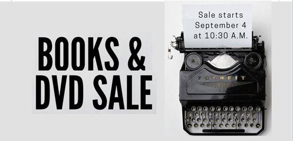 BooksAndDVDSale DauphinPublicLibrary 2018 Sept4th 6th Notice001