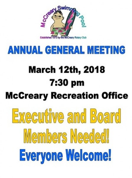 McCrearySwimmingPool AGM 2018 03 12 Notice001