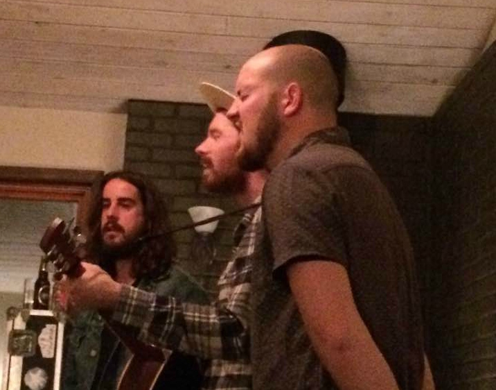 The Greenbank Trio from Thunder Bay played a house concert in Dauphin last night