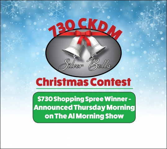 Silver Bells Contest Grand Prize Draw - 730 CKDM