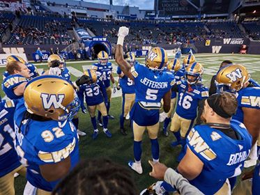 CFL Focuses In On Winnipeg