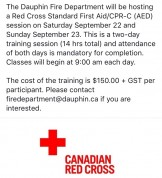 RedCrossStandartFirstAid-CPR-C-AED_2-DayTrainingCourse_DauphinFireDepartment_2018Sept22nd-23rd_Notice001.jpg