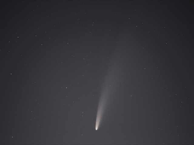 Rare Comet Now Visible In The Night Sky