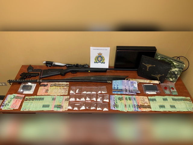 Drugs, Weapons, Cash Seized From Home On Peguis First Nation