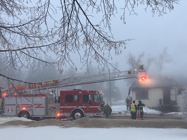 House Fire In Dauphin, DRCSS Closed Today