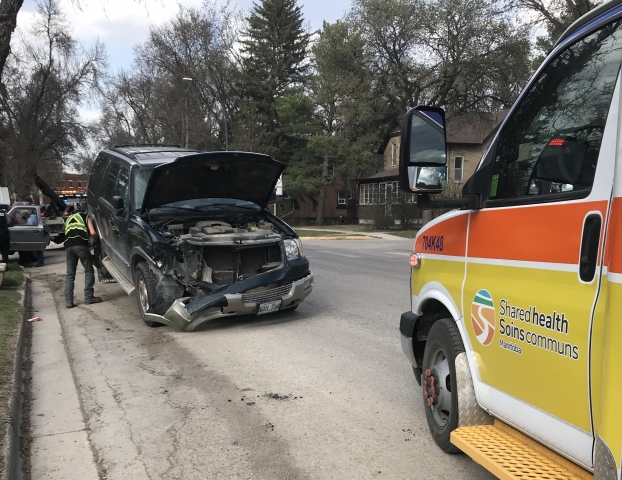 Emergency Crews Respond To Collision In Dauphin