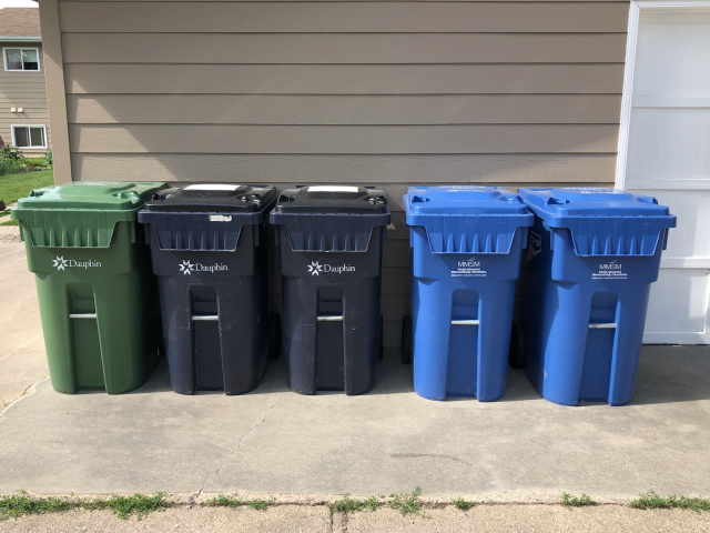 Recycling Delayed In Parts Of Day 3 Area
