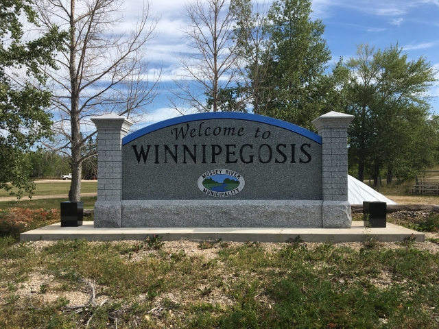 Waterline Break In Winnipegosis