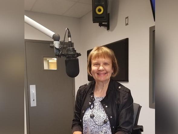 Kathy Bellemare Kicks Off Rotary Radio Week