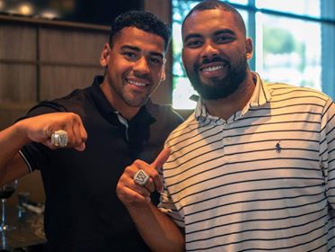 Bombers Show Off Championship Rings