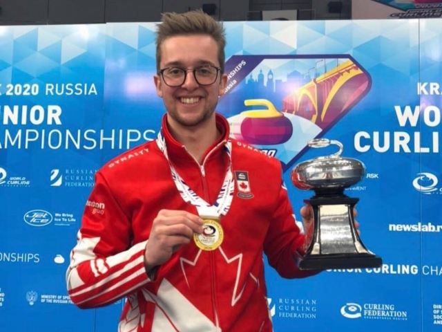 Manitoba Champion Inside Curling Bubble