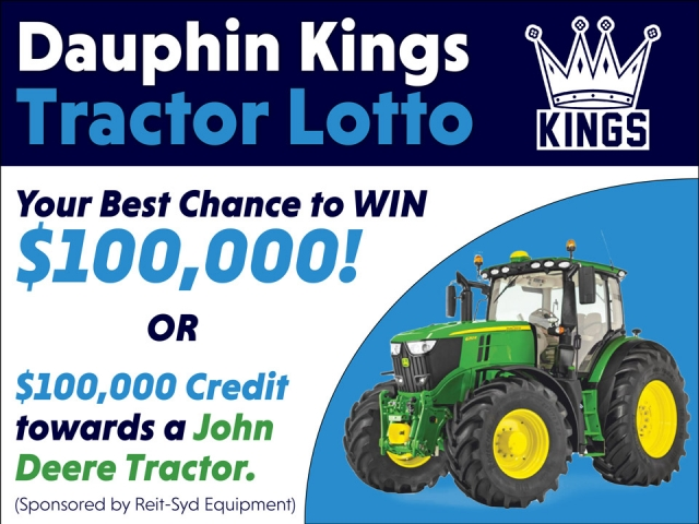 Tractor Lotto Offers Great Odds To Win
