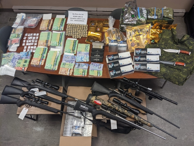 Ste Rose RCMP Seize Guns, Drugs From Home In Bacon Ridge
