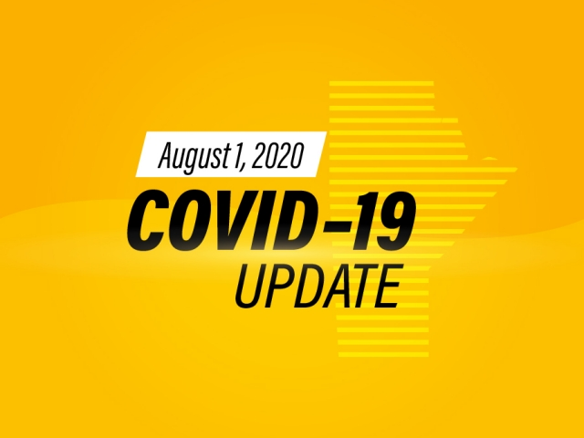Two New COVID-19 Cases Reported Saturday