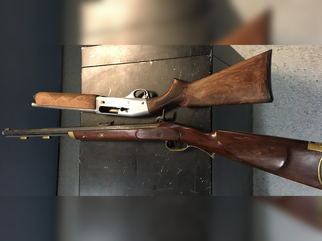 Guns Seized During Traffic Stop In Portage