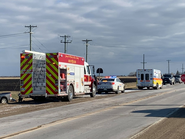 Hydro Pole Downed After Dauphin Collision